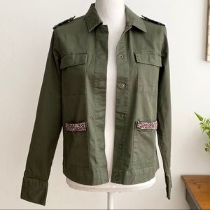Target a new day Olive Green Utility Army Jacket M